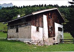 Le chalet de Heidi à Maienfeld (Dörfli, GR)