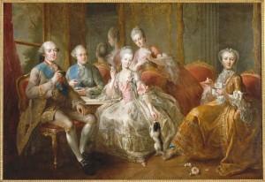 La duchesse de Penthièvre et son chocolat (milieu XVIIIe siècle)