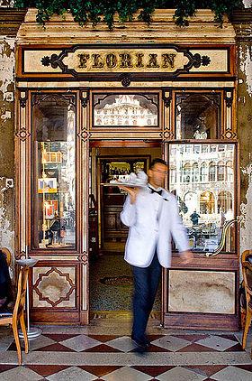 Café Florian, Piazza San Marco, Venise